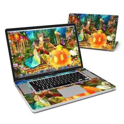 MacBook Pro 17in Skin - Midnight Fairytale