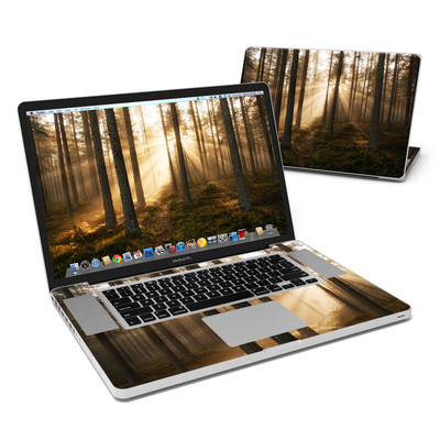 MacBook Pro 17in Skin - Misty Trail
