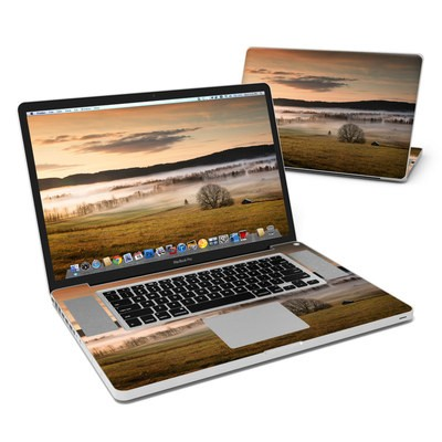 MacBook Pro 17in Skin - Misty Morning