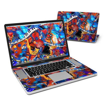 MacBook Pro 17in Skin - Music Madness