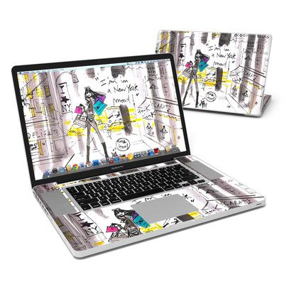 MacBook Pro 17in Skin - My New York Mood
