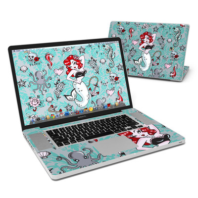 MacBook Pro 17in Skin - Molly Mermaid