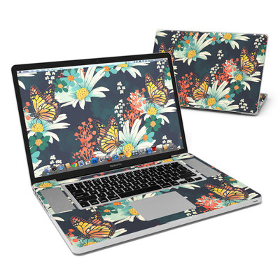 MacBook Pro 17in Skin - Monarch Grove