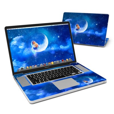 MacBook Pro 17in Skin - Moon Fox
