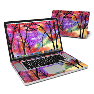 MacBook Pro 17in Skin - Moon Meadow