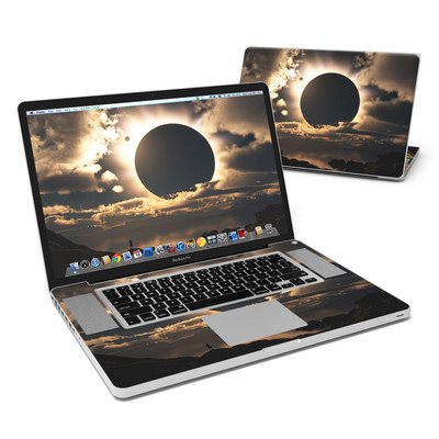 MacBook Pro 17in Skin - Moon Shadow