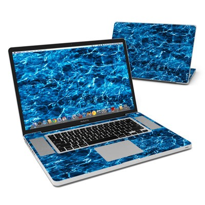MacBook Pro 17in Skin - Mossy Oak Elements Agua