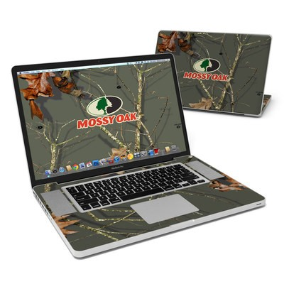 MacBook Pro 17in Skin - Break-Up Lifestyles Evergreen