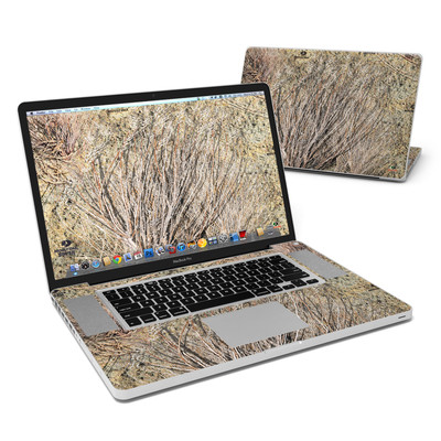 MacBook Pro 17in Skin - Brush