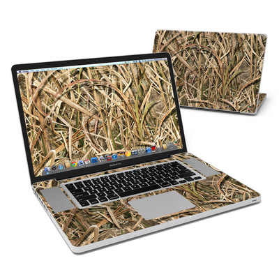 MacBook Pro 17in Skin - Shadow Grass Blades