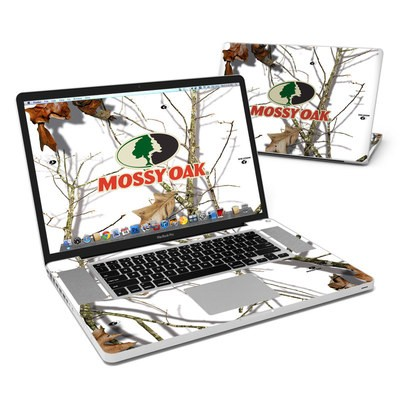 MacBook Pro 17in Skin - Break-Up Lifestyles Snow Drift
