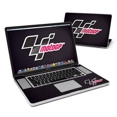 MacBook Pro 17in Skin - MotoGP Carbon Logo