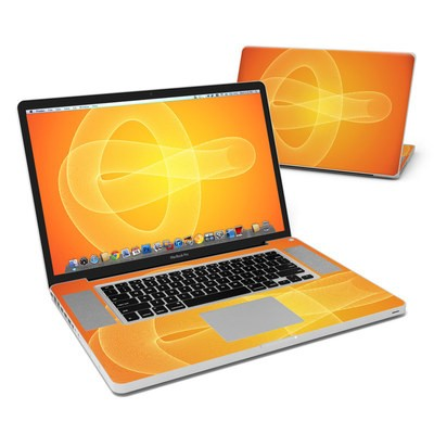 MacBook Pro 17in Skin - Moire Trefoil