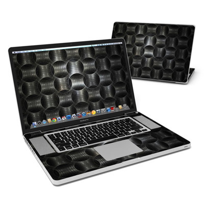 MacBook Pro 17in Skin - Metallic Weave