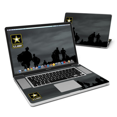 MacBook Pro 17in Skin - Night Action