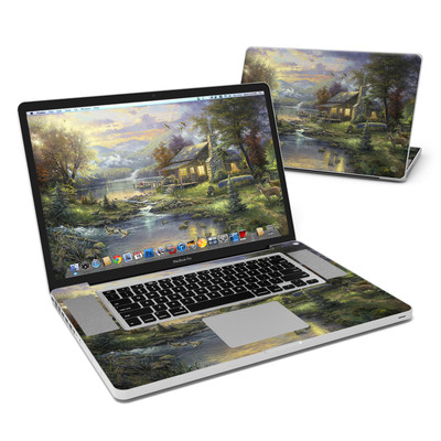 MacBook Pro 17in Skin - Natures Paradise