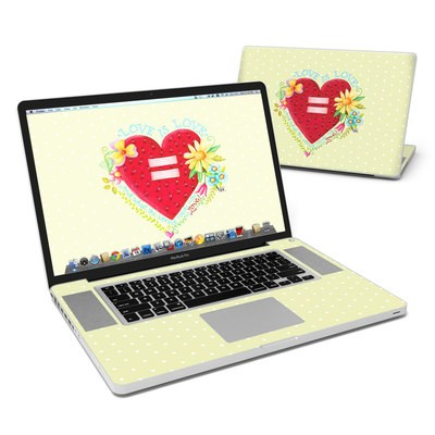 MacBook Pro 17in Skin - Love Is What We Need