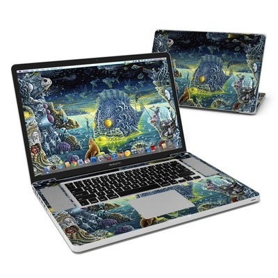 MacBook Pro 17in Skin - Night Trawlers