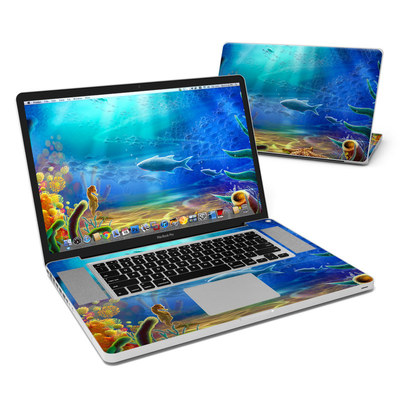 MacBook Pro 17in Skin - Ocean Life