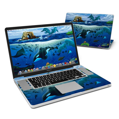 MacBook Pro 17in Skin - Oceans For Youth