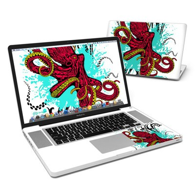 MacBook Pro 17in Skin - Octopus