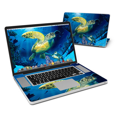 MacBook Pro 17in Skin - Ocean Fest