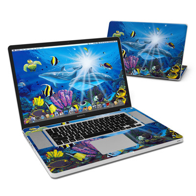 MacBook Pro 17in Skin - Ocean Friends