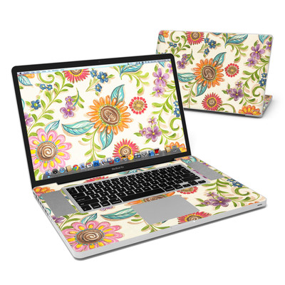 MacBook Pro 17in Skin - Olivia's Garden