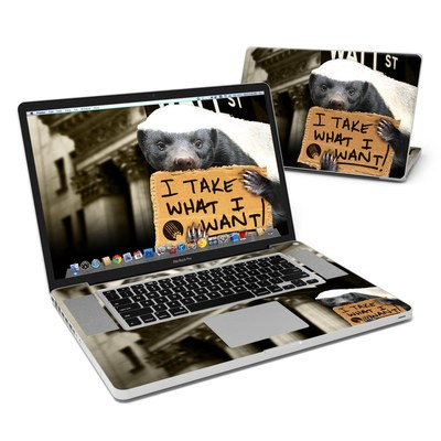 MacBook Pro 17in Skin - One Percent