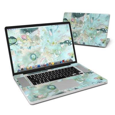 MacBook Pro 17in Skin - Organic In Blue