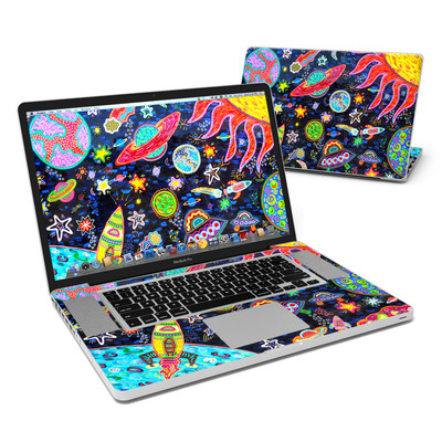 MacBook Pro 17in Skin - Out to Space