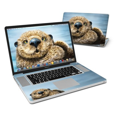 MacBook Pro 17in Skin - Otter Totem