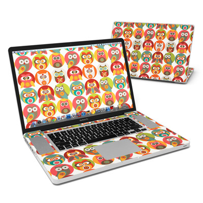 MacBook Pro 17in Skin - Owls Family