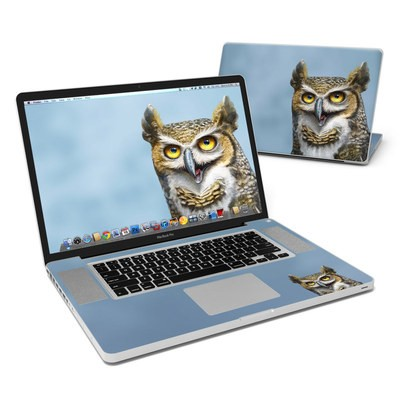 MacBook Pro 17in Skin - Owl Totem