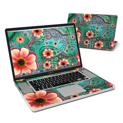 MacBook Pro 17in Skin - Paisley Paradise