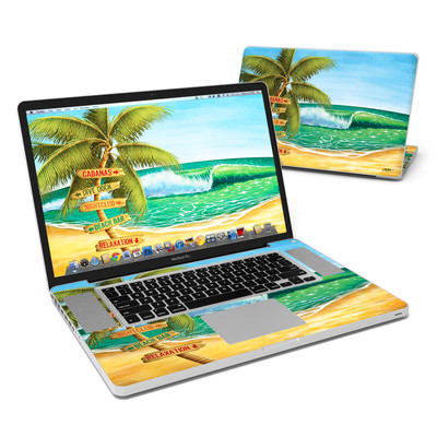 MacBook Pro 17in Skin - Palm Signs