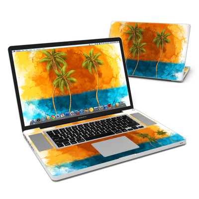 MacBook Pro 17in Skin - Palm Trio