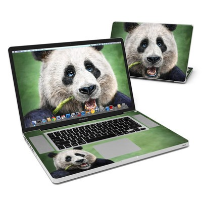 MacBook Pro 17in Skin - Panda Totem
