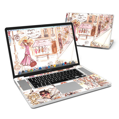 MacBook Pro 17in Skin - Paris Makes Me Happy