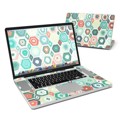 MacBook Pro 17in Skin - Pastel Diamond