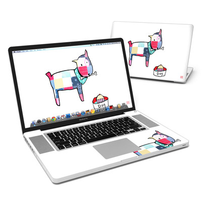 MacBook Pro 17in Skin - Patch Dog