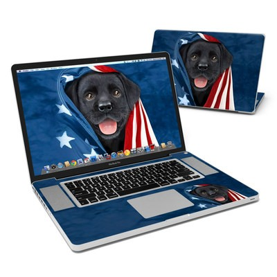 MacBook Pro 17in Skin - Patriotic Lab
