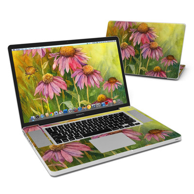 MacBook Pro 17in Skin - Prairie Coneflower