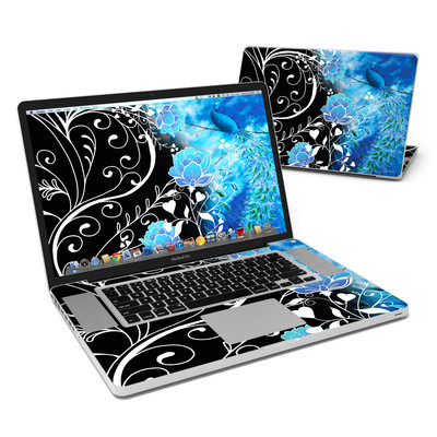 MacBook Pro 17in Skin - Peacock Sky