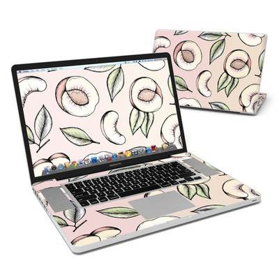 MacBook Pro 17in Skin - Peach Please