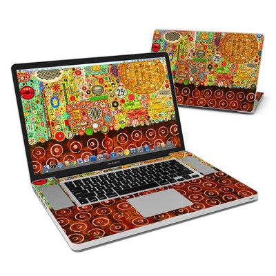 MacBook Pro 17in Skin - Percolations