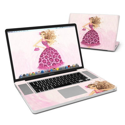 MacBook Pro 17in Skin - Perfectly Pink