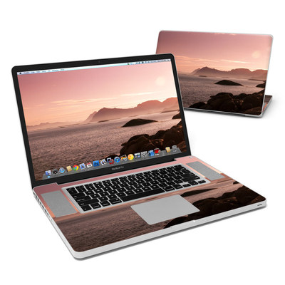 MacBook Pro 17in Skin - Pink Sea