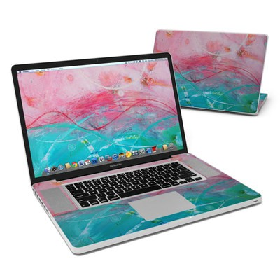 MacBook Pro 17in Skin - Pink Sky