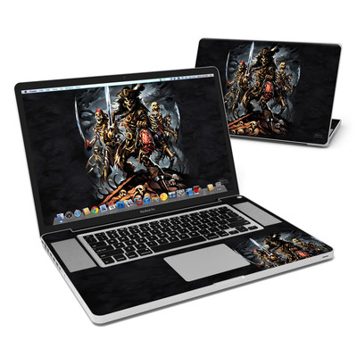 MacBook Pro 17in Skin - Pirates Curse